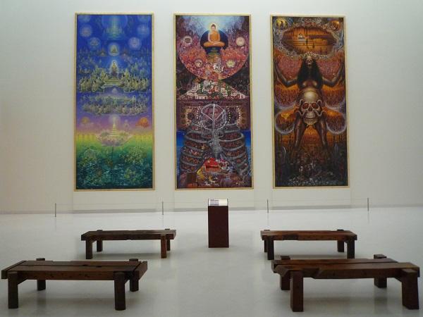 Une salle d'exposition du MOCA (c) Philippe Triay