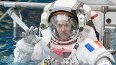 Date: 01-16-15 Location: NBL - Pool Topside Subject: ESA astronauts Luca Parmitano and Thomas Pesquet training together for INC-49/INC-50 ISS EVA Maintenance run Photographer: James M. Blair/ NASA