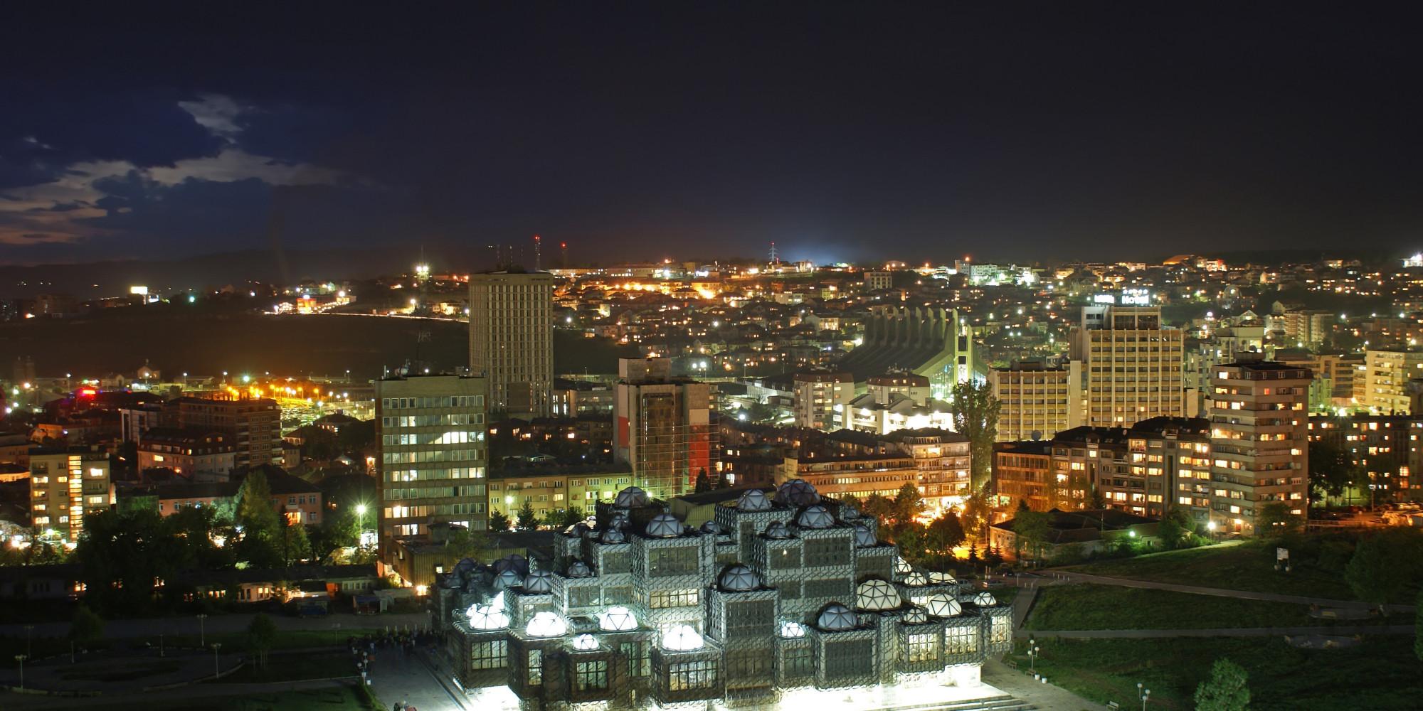 Balkan Nightscape (Prishtina, Kosovo)