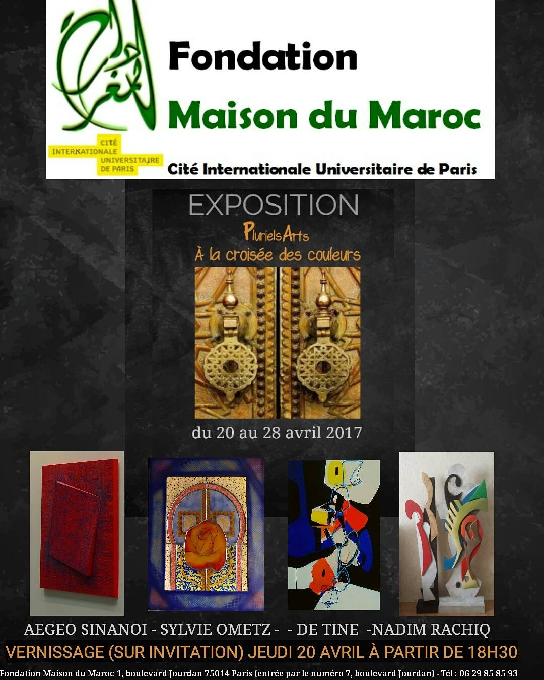 plurielsarts la fondation maison du maroc pluton magazine. Black Bedroom Furniture Sets. Home Design Ideas